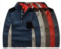 Men's Winter  leisure cashmere sweater plus thick cashmere sweaters  M L XL XXL XXXL