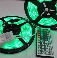 10M 2x5M 3528 Waterproof SMD RGB 600LEDs LED Light Strip Lamp 44Key IR remote