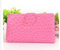 Free shipping 2014 fashion travel cosmetic bag leather waterproof storage wash bag Clutch