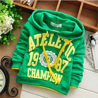 unisex boys 1987 number hoody baby children sweatshirts hoodies drop shippig KT245R