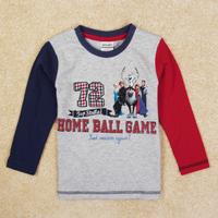 New arrival Frozen Boy's t shirt Printed cartoon shirt long sleeve kids boy 100% cotton boys clothing A5481Y