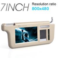 "37.5cm Lenght Touch 2in1 7"" Car Sun visor Rear View Backup Mirror Monitor Sensor DVD/GPS/TV Media Screen displayer"