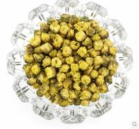 top grade 100% natural golden fetal Chrysanthemum buds tea 40g herbal flower tea beauty scented tea(rujia)