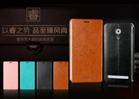 leather case for zte nubia z7 leather flip cover free shipping by DHL