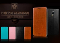 leather case for meizu mx4 leather flip cover free shipping by DHL