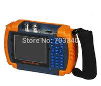 "3.5"" LCD  IP CCTV tester monitor analog camera  ip camera testing PTZ control  audio 12V output"