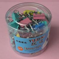 Office Supplies 60Pcs Office 15mm Width Metal Binder Clips Office School Teacher