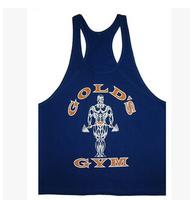 High quality Men's Bodybuilding Cotton Vest Power Brand Golds Gym Tank top T Shirt gasp Sport Large Size XXL Men undershirt