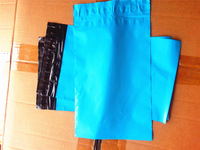 "[PM-W69]--Blue Poly Mailer 6""x 9"" 15.3x 27cm lip included [100/lot] Mailbag courier mailer Plastic envelope"