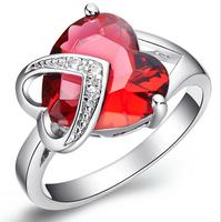 CircOnAN NEAUX RINGE Finger 3CT PINK Diamant Rings Zircon Stone Wedding Rings ANILLOS FASHHION JEWELR
