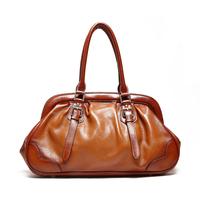 2014 New Women's Genuine Leather Branded  Floral Handbags Shoulder Bags Messenger Bag Fashion  Vintage Designer