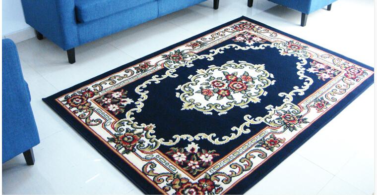 Free Shipping European Style Parlor Room Sofa Tea Table Carpet Fashion Door Mat Area Rug 3color(China (Mainland))
