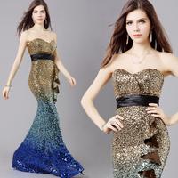 New Design Women Sweetheart Floor-Length Prom Dresses Female Strapless Elegant Formal dress Long Lady Girl Party Evening Dresses
