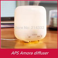 48pcs/lot Big capacity 500ml ultrasonic aroma diffuser lamp home aroma diffuser electric diffuser aroma with LED (OEM)