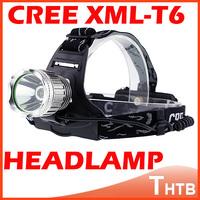 Super 2500 Lumens LED Waterproof Head Light Cree XML T6 LED Zoomable Headlamp Headlight Head Flashlight Torch lantern bicycle
