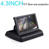"Folding 4.3"" LCD Car/Truck Rear View Backup Parking Monitor Sensor DVD/GPS/TV Media Screen displayer"