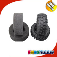 """One Pair 1/10 Crawler Tire Set 1.9"""" With Foam Insert for RC Crawlers Free Shipping"""