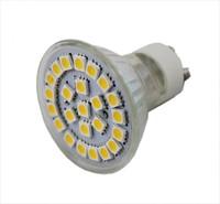 10pcs/Lot 24 LED 5050 SMD GU10 Warm/Day White Light Bulbs Bright free shipping