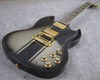 S-G. Electric Guitar, 120th Anniversary, Silver Burst, High Quality