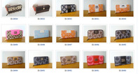 hot sale high quality fashions brand bUs women's and ladies purse and famous wallets