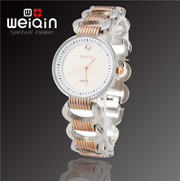 Hot Sales! WEIQIN Brand Fashion Women Dress Bracelet Watch, Quality Assurance, Waterproof Stainless Quartz Watch