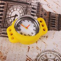 round Loom Watch Quartz Silicone quartz Watch for Loom Bracelet kit DIY Mix Color Loom Bands Shipping Free 500 pcs/lot