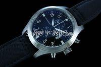 48mm Parnis Pilot Chronograph Black Dial Watch 001