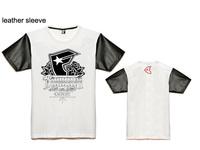 2014 free shipping brand new summer men's fashion cotton short-sleeve T-shirt o-neck men's t shirt men tops t shirts size