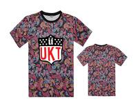 Free Shipping 20 Style UNKUT Letter Graphic S-XXXL Size O-Neck Short Cotton Casual Men's hip hop T Shirts