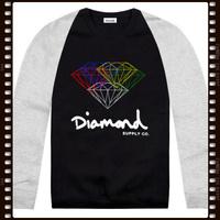 Free Shipping Stock Diamond Brand Cheap Lowest Price Hoodies Diamond Men's Sweatshirt Sports Outdoor Fashion Clothing