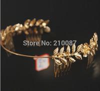 2014 retro palace retro flower metal hoop headband women Headband