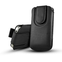 PU Leather Pull Tab Pouch Belt Case with Magnetic Button for Sony experia Z3 Compact z3 mini 1000pcs/lot free DHL