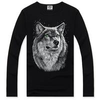 Mens t shirts fashion 2014 3D Animal Creative T-Shirt, Finger/flash/crow/monkey 3d printed short sleeve T Shirt