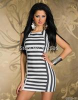 Fashion o-neck perspective girl mini dress sexy club dress sleeveless vestidos casual free shipping