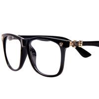 2014 Fashion women Glasses frame elegant decoration eyeglasses frame big plain mirror nerd glasses wholesale