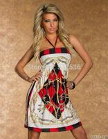 New women hot fashion bohemian style women dress casual dress plus size dress  M L XL XXL