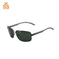 2014 New Ultra Light Comfort Men Pierced Al-Mg Alloy Metal Sun Glasses,Moda Polarized Travel Driving Lunettes De Soleil G356