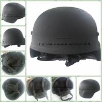 YFD-002,New Bulletproof Helmet,Full Kevlar Shell,Matte Black,NIJ IIIA Level,9mm Diameter Bullet,5m Distance More,NIJ Certificate