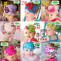 Free Shipping 18 style Beautiful Feather Headband hairband Baby Girls headbands hair accessories Baby Christmas