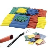 260pcs 8 Sizes Assortment Heat Shrink Tubing 1.0mm 2.0mm,3.0mm 4.0mm 6.0mm 8.0mm 10.mm 13.0mm Sleeving Wrap Wire Cable Kit