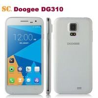 Original DOOGEE VOYAGER2 DG310 Smart Phone Quad Core MTK6582 Android 4.4 1GB 8GB 5.0 Inch IPS Screen854*480 BT GPS Dual Sim FM