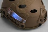 Tactical Helmet light Helmet V-lite Blue Support Helmet Cap Bicycle Outdoor Safe Light