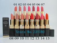 5PCS Brand Cosmetics High Quality 3.5G Lipstick 15 Different Colors Optional Makeup Lipstick  HYDRATING CREME LIP COLOUR