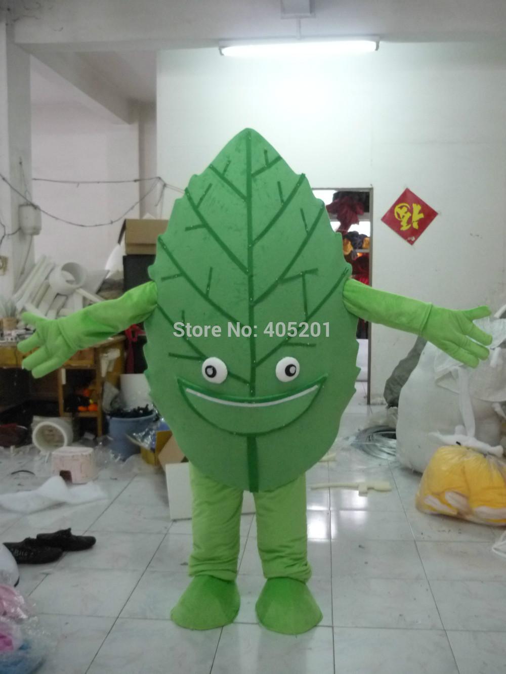 green plants mascot costumes leaf costumes(China (Mainland))
