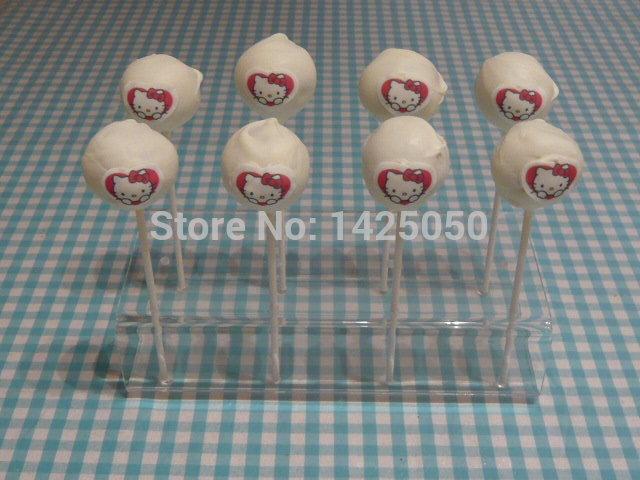 8 Holes Clear 3mm Thicnkess Acrylic Cake Pop Display Holder(China (Mainland))