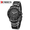 2014 Brand CURREN 8099 Stainless Watch Tag Men Steel Watch Business Casual Men Watches Quartz Water 30 Resist