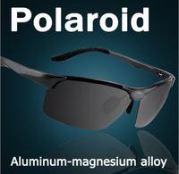 Fashion Summer Sport Sunglasses Polarized Sun Glasses Aluminum Magnesium Alloy Polaroid Coating Sunglass Driving Oculos 2102