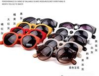 New 2014 Retro Round Lens Coating Sunglasses Women Brand Designer Vintage Sun Glasses Men Oculos De Sol Gafas 9 colors