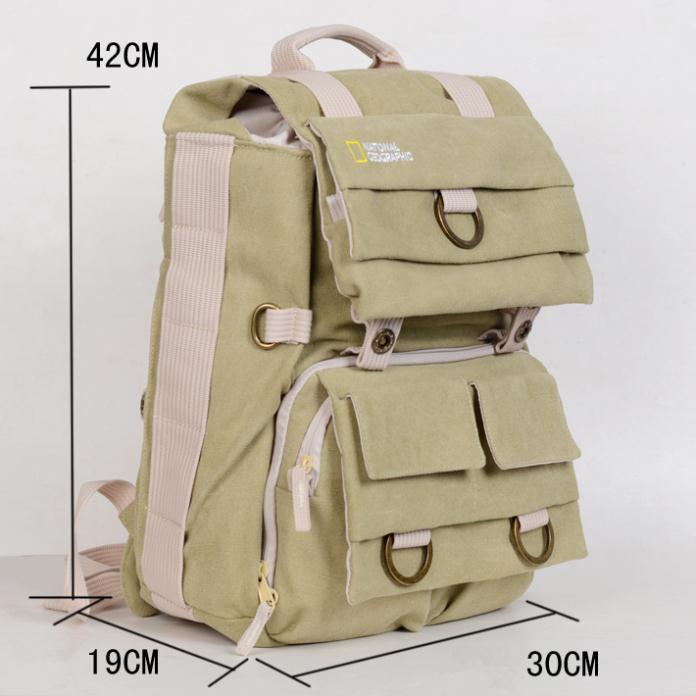 National Geographic NG5160 Canvas DSLR Camera Bag Backpack Laptop bag Waterproof Bag for Canon Nikon Sony Free Shipping(China (Mainland))