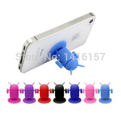 Creative Universal Silicone phone sucker Stand base 0208_3(China (Mainland))